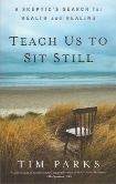 teach us to sit still book cover